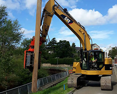 About Miller Site Services Steel Sheet Piling Services